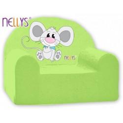 Nellys Dětské křesílko - Myška