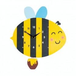 Dětské hodiny včelka