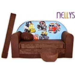 Nellys Rozkládací dětská pohovka 47R