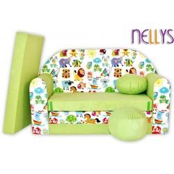 Nellys Rozkládací dětská pohovka 49R