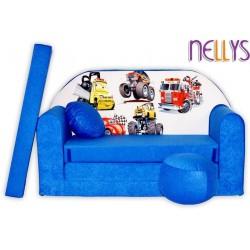 Nellys Rozkládací dětská pohovka 52R