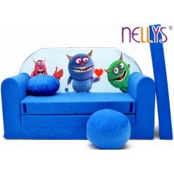 Nellys Rozkládací dětská pohovka 54R