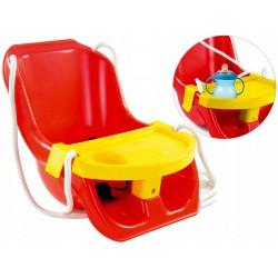 Dětská houpačka s bezpečnostními pásy - Mochtoys