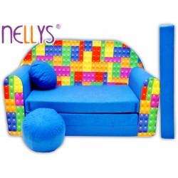 Nellys Rozkládací dětská pohovka 65R