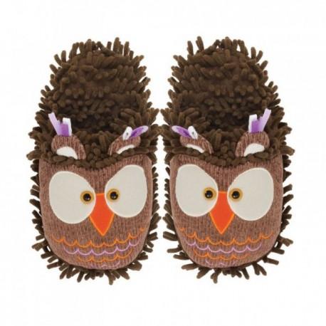 Dámské kožené pantofle růžové ( D0007 )