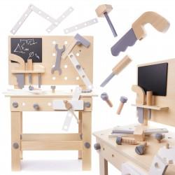 Dětský dřevěný pracovní stůl BLACK