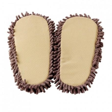 Dětské kožené pantofle - oranžové ( D0003 )