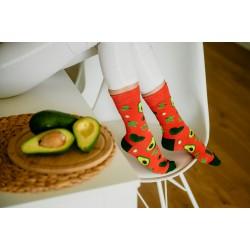 Veselé ponožky HESTY - Avokádo