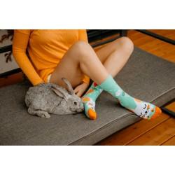 Veselé ponožky HESTY - Zajkáče