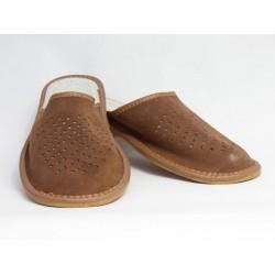 Pánské kožené pantofle Model S 0018