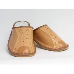 Pánské kožené pantofle Model P 0016