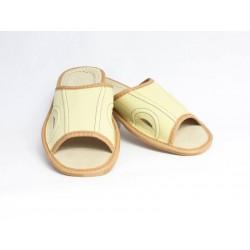 Pánské kožené pantofle Model F 0010