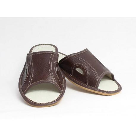 Pánské kožené pantofle Model E
