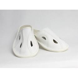 Pánské kožené pantofle Model C 0007