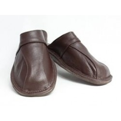 Pánské kožené pantofle Model V