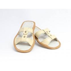 Dámské kožené pantofle model 4