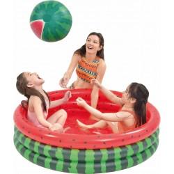 Dětský nafukovací bazén - meloun - 120x30cm