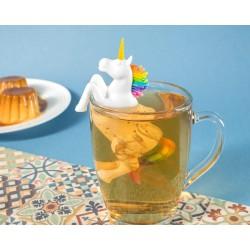 Silikónové čajové sitko - jednorožec