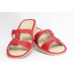 Dámské kožené pantofle model 5