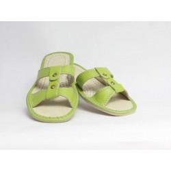 Dámské kožené pantofle model 6