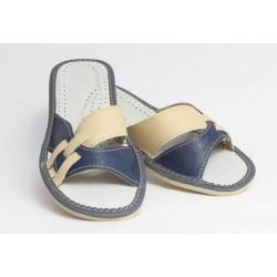 Dámské kožené pantofle model 8