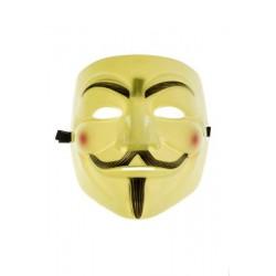 Maska Anonymous Vendeta - Žlutá