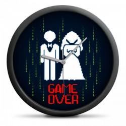 Nástěnné hodiny - Game Over
