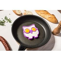 Silikonová forma na vajíčka - sova