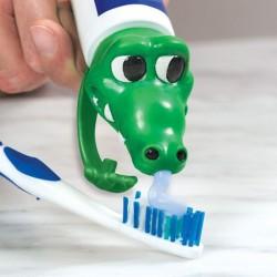 Víko na zubní pastu krokodýl