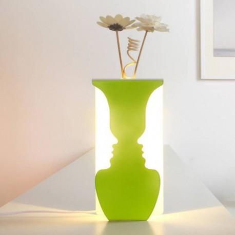 USB svítící váza