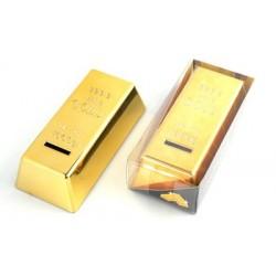 Zlatá tehla pokladnička