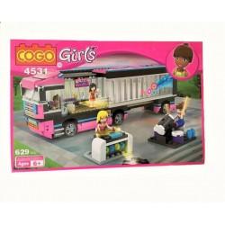 Stavebnice COGO GIRLS