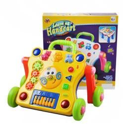 Interaktivní hrající vozík