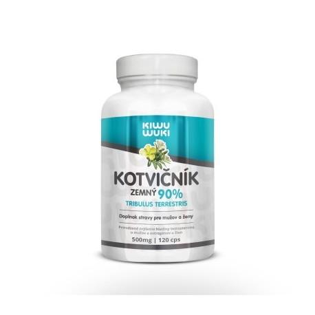 KIWU WUKI Kotvičník zemní   Tribulus Terrestris   tabletky 120 cps   90% extrakt   doplněk stravy