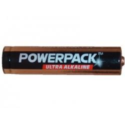 Alkalické baterie Powerpack 3x AAA