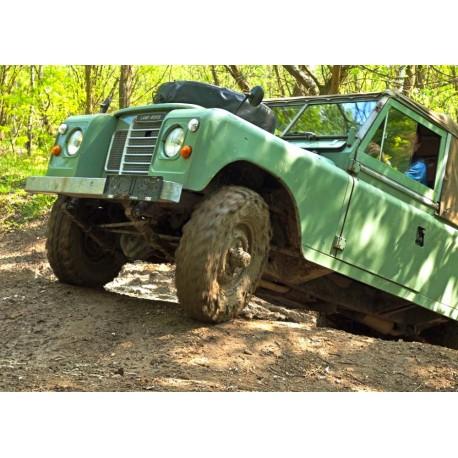 Land Rover off-road - testovací trénink