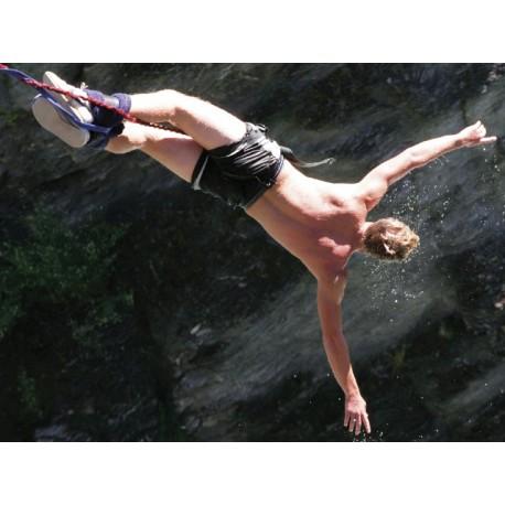 Bungee jumping z mostu POČET OSOB: 1, SPECIFIKACE: Bungee z mostu (62 metrů)
