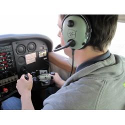 Pilot letadla na zkoušku