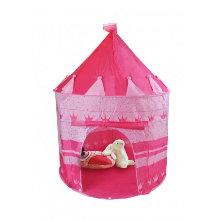 Dětský stan zámek - růžový