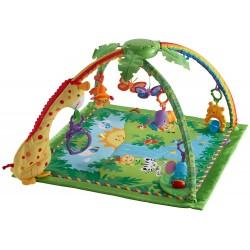Dětská hrací deka s hrazdičkou - Prales