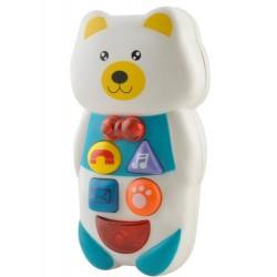 Dětský interaktivní telefon - macko