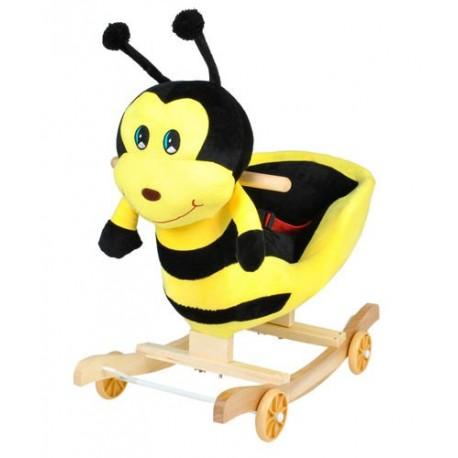 Dětská houpačka s kolečky - včelka