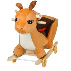 Dětská houpačka s kolečky - jelen