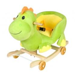 Dětská houpačka s kolečky - dinosaurus
