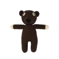 Medvídek - Mr. Bean 30cm - ruční práce