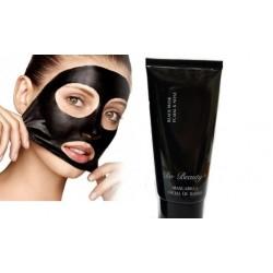 Černá slupovací maska na obličej
