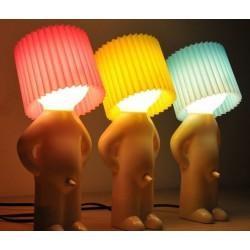 Vtipná lampa - Mr. P lamp - modrá