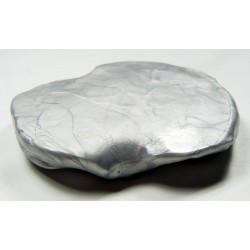 Inteligentná plastelína - Žiarivá strieborná