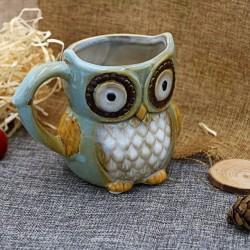 Porcelánový hrnek - sova