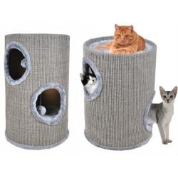 Domeček pro kočky 50cm šedá